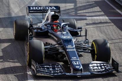 AlphaTauri reveals new nose design for AT02 F1 car