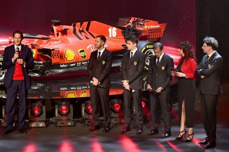 Formel-1-Liveticker: Ferrari-Teampräsentation für 2021