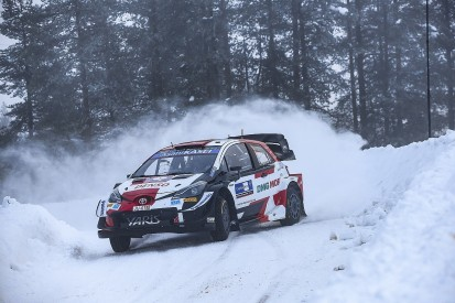 Ogier laments his road position for Friday's WRC Arctic Rally stages