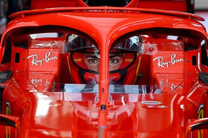 Sainz coy on rumoured crash in Jerez 18-inch F1 tyre test