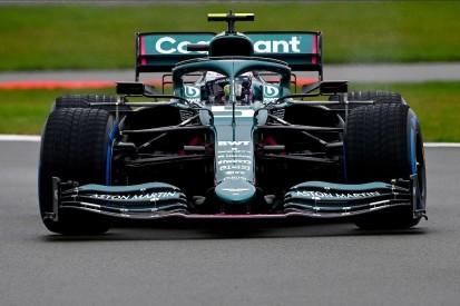Shakedown in Silverstone: Sebastian Vettel gibt Aston-Martin-Debüt