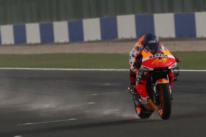 MotoGP-Test Katar Freitag: Sandsturm beeinträchtigt letzten Testtag