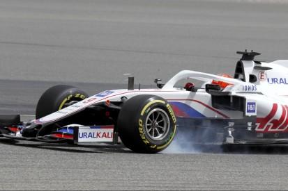 Bahrain-Test: Nikita Masepin fängt Crash bei Giovinazzi-Verfolgung ab
