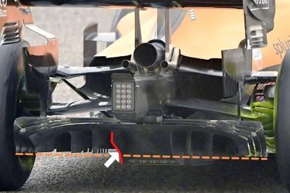 Diffusor-Innovation: So trickst McLaren das neue F1-Reglement aus