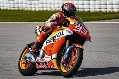 Wie Marc Marquez beim Privattest in Barcelona MotoGP-Luft schnupperte