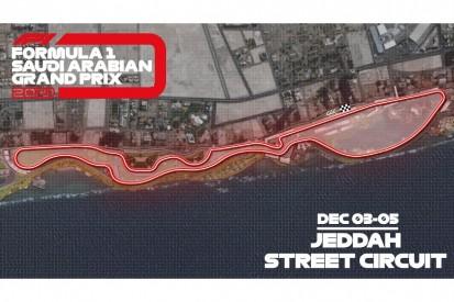 Großer Preis von Saudi-Arabien: Formel-1-Strecke von Dschidda vorgestellt