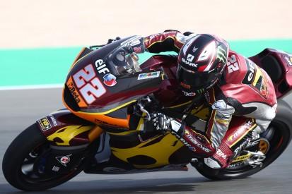 Moto2-Vorsaisontest 2021 in Katar: Sam Lowes P1 - Schrötter mit Highsider