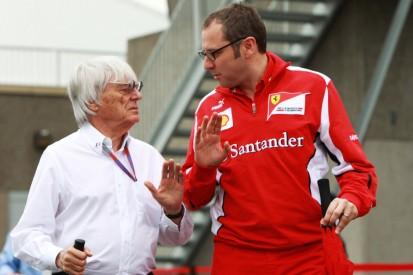 Kein Bernie-Bashing mehr: Neuer F1-Boss legt Paddock-Pass für Ecclestone bereit