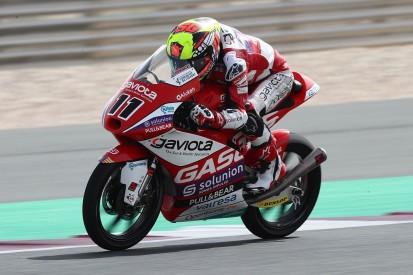 Moto3 FT3 in Katar (1): Garcia vorn - Zeiten langsamer als am Freitag