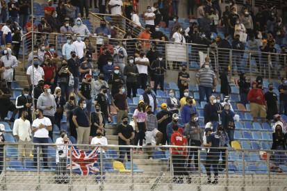 Geimpfte und Geheilte: 4.500 Fans beim Grand Prix von Bahrain