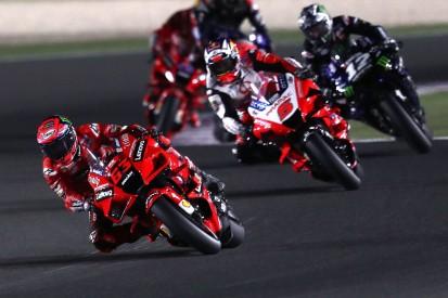 Ducati: Reifenprobleme und Gegenwind bremsen im ersten Katar-Rennen 2021