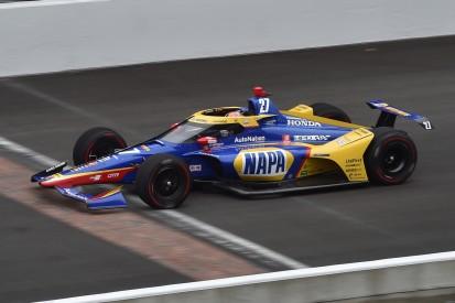 Alexander Rossi über Indy-Test: Aerodynamik wichtiger als KERS