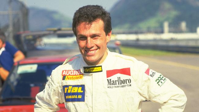 Lutto in F.1: De Cesaris è morto in un incidente in moto