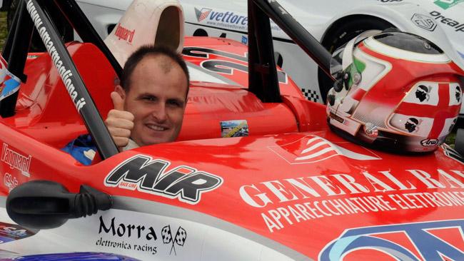 Magliona protagonista al FIA Hill Climb Masters