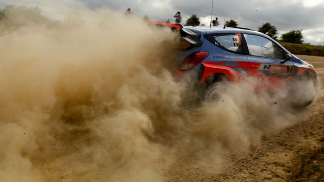 Spagna, Shakedown: Thierry Neuville in evidenza
