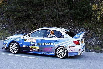 Un K.O. insolito per la nuova Subaru WRX STI