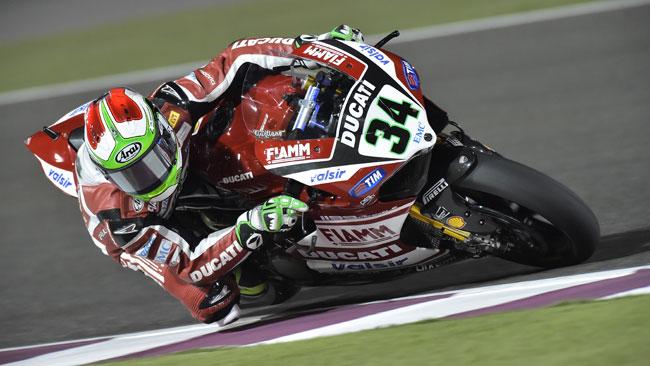 Giugliano regala la Superpole alla Ducati in Qatar
