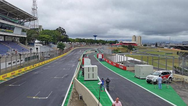 Modificato l'ingresso della pitlane di Interlagos