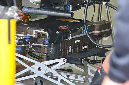McLaren: ecco il pacco della batteria dell'ERS
