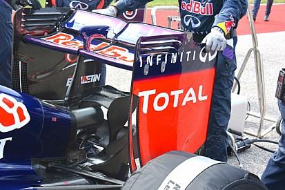 Red Bull: Ricciardo con l'ala scarica ha fatto più fatica