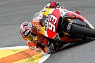Valencia, Warm Up: Marquez si rimette davanti