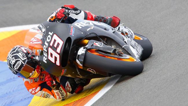 Valencia, Day 3: Marquez nella doppietta Honda