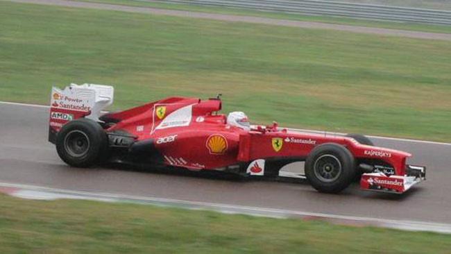 Vettel in pista a Fiorano anche nel pomeriggio