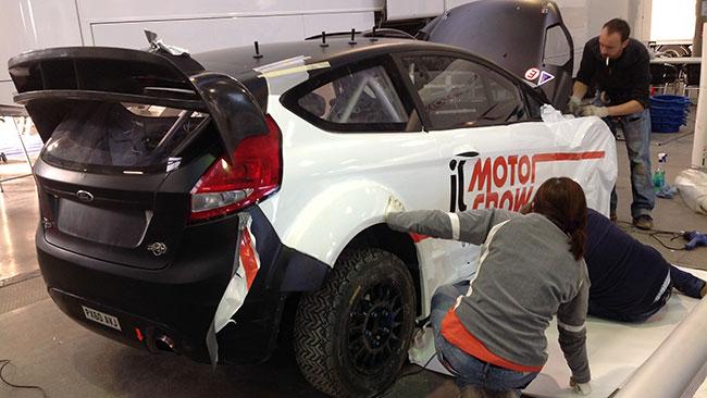 La M-Sport prepara la Fiesta WRC di Villeneuve