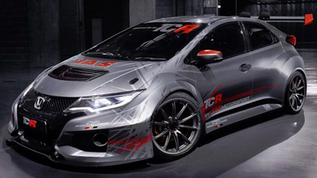 Ecco la prima immagine della Honda Civic TCR