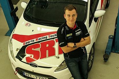 Reinis Nitišs al Rally di Liepāja con una Fiesta R2