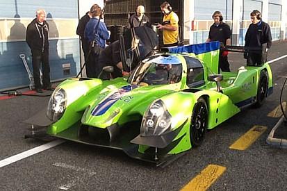 Pla ed Alex Brundle a Daytona con la Krohn Racing