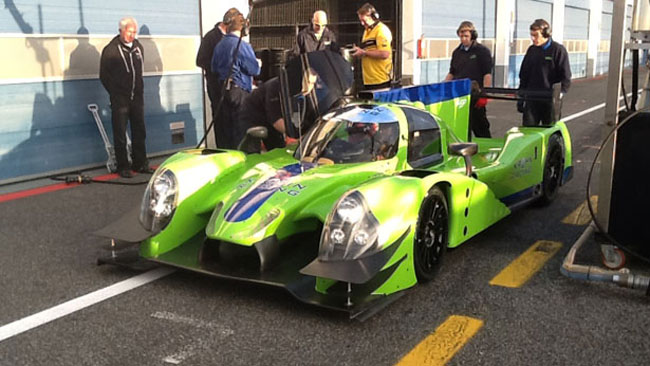 Pla ed Alex Brundle a Daytona con la Krohn Racing