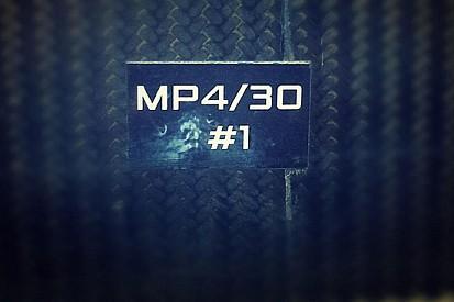 McLaren: ecco il primo scatto della MP4-30