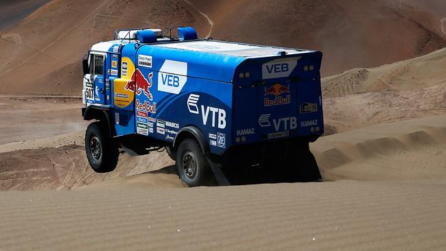 Dakar 2015: i Kamaz già con i motori downsizing