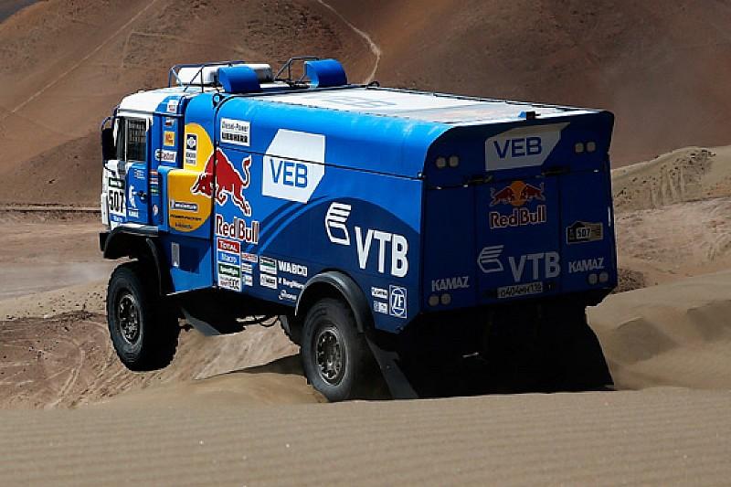 Dakar, Camion, Tappa 9: Mardeev mantiene il controllo