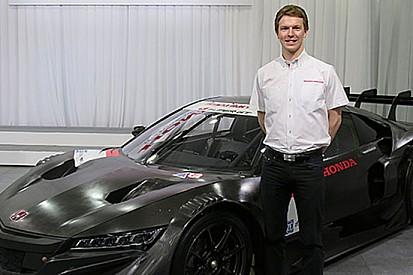 Oliver Turvey in Super GT con Honda