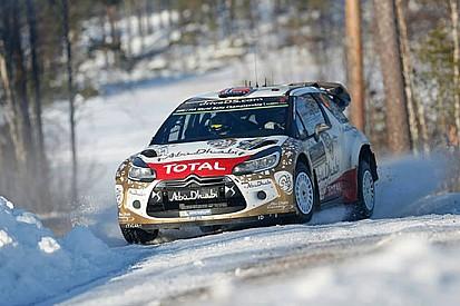 Un Rally di Svezia complicato per Citroen
