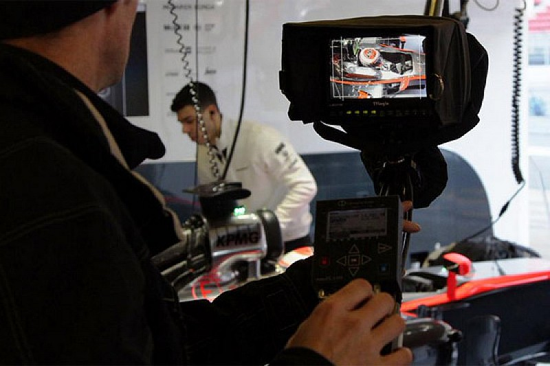 La McLaren ha sfruttato un filming day a Barcellona