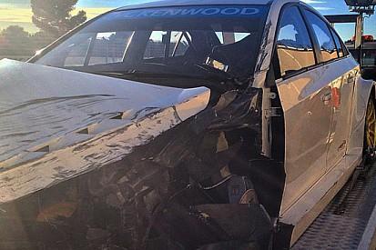 Valente illeso in un brutto incidente al Paul Ricard