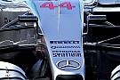 Mercedes: modificati i supporti delle telecamere