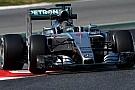 Barcellona, Day 2, Ore 17: la Mercedes vola con le soft!