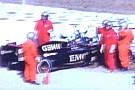 Maldonado sbatte alla curva 4: bandiera rossa