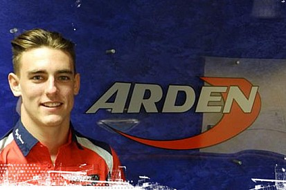 Kevin Ceccon in GP3 con il team Arden