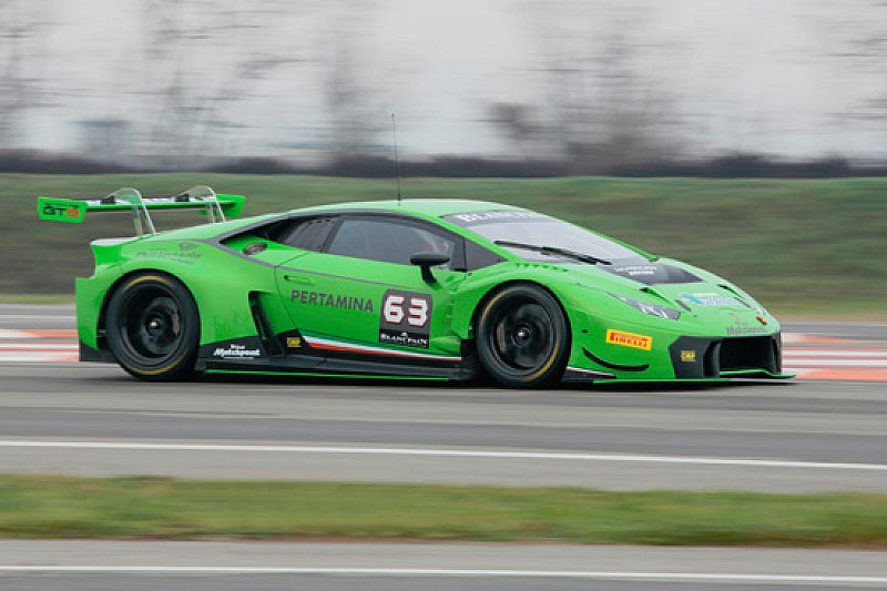 La Huracán GT3 ha debuttato ufficialmente nei test