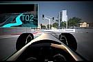 Long Beach, il tracciato dell'ePrix simulato in un video