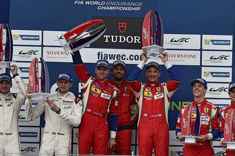 Bruni da ultimo a primo con la Ferrari 458