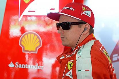 Raikkonen a Budapest al volante della Ferrari F10