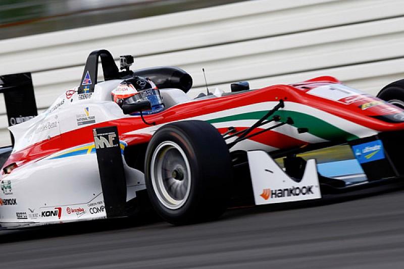Rosenqvist in pole in gara 1 per soli 14 millesimi