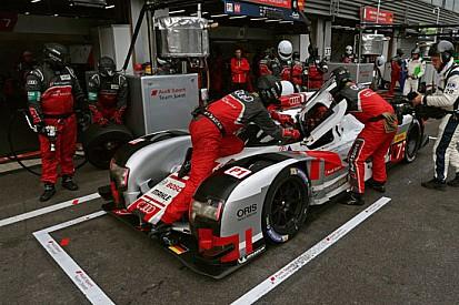 Audi: trentasei secondi di vantaggio dai box