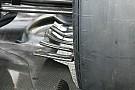 McLaren: flap orizzontali alla brake duct posteriore